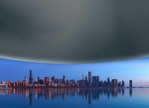Neutron Star Over Chicago